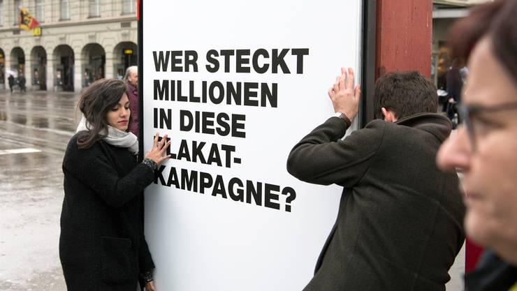 Der Kampf für Transparenzregeln zeigt erste Erfolge. Peter Schneider/Keystone