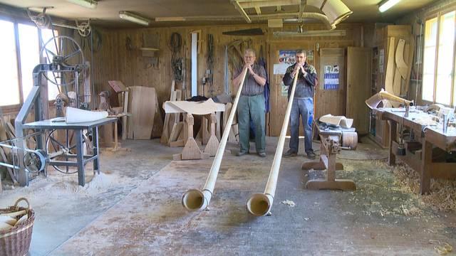 Traditionsreiche Handwerke: Der Alphornbauer