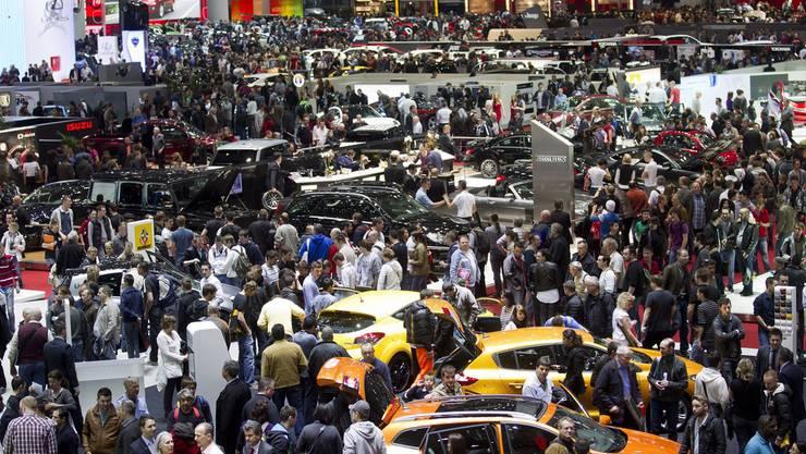 Über 700'000 Autofans pilgerten dieses Jahr nach Genf.