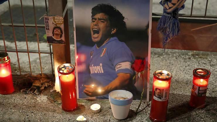 Die Fussball-Welt trauert um Diego Armando Maradona