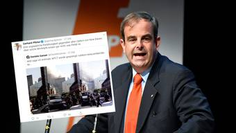 Hält Daniele Gansers 9/11-Theorie für Humbug und pietätlos: CVP-Präsident Gerhard Pfister.