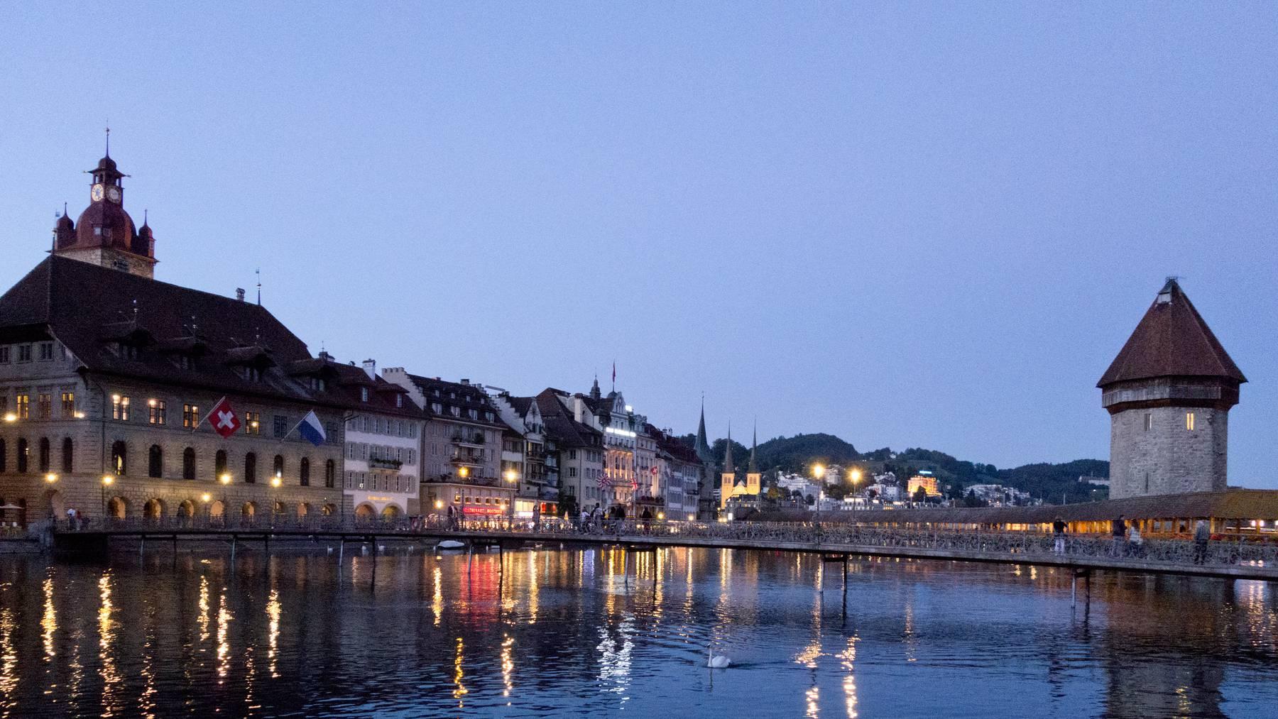Die Stadt Luzern ist sicher
