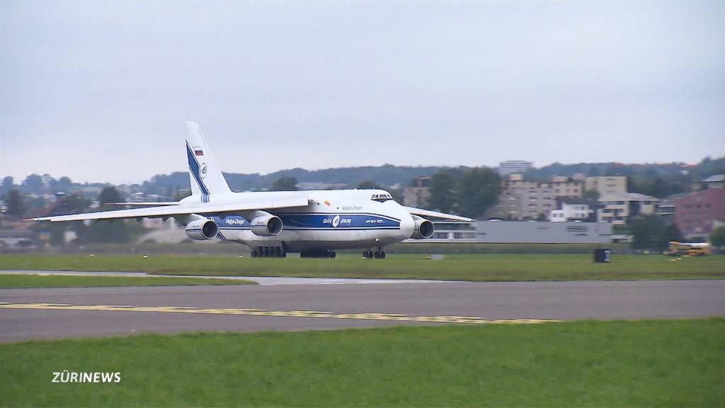 Transportkoloss Antonov fliegt zum letzten Mal ab Emmen