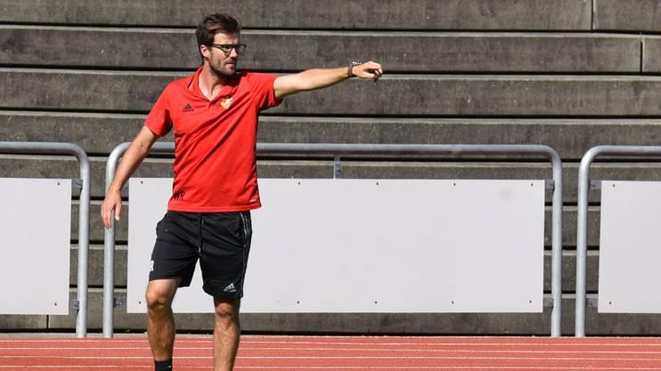 Raphael Wicky trainiert die U21 des FC Basel.