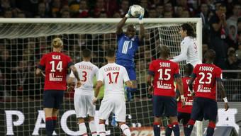 Lille-Hüter Vincent Enyeama hat seit 11 Partien keinen Ball mehr reingelassen.