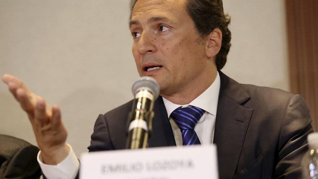 Der ehemalige Chef des mexikanischen Ölkonzerns Pemex, Emilio Lozoya, wehrt sich gegen Korruptionsvorwürfe.
