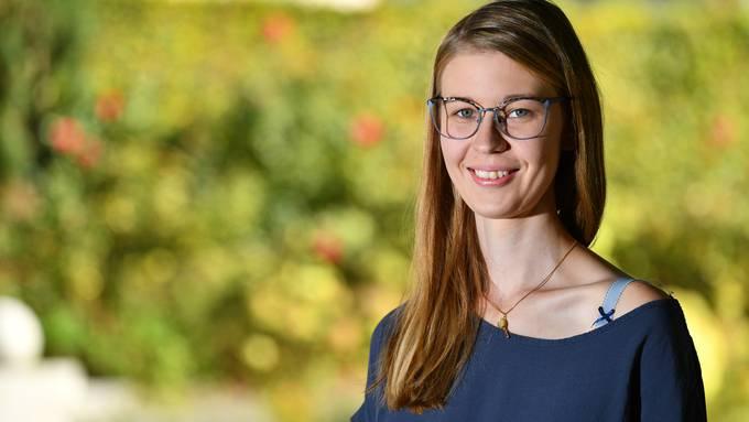 Die Balsthalerin Larissa Walser ist eine von acht Studierenden der ganzen Schweiz, die ein Exzellenzstipendium erhalten. Bild: Bruno Kissling