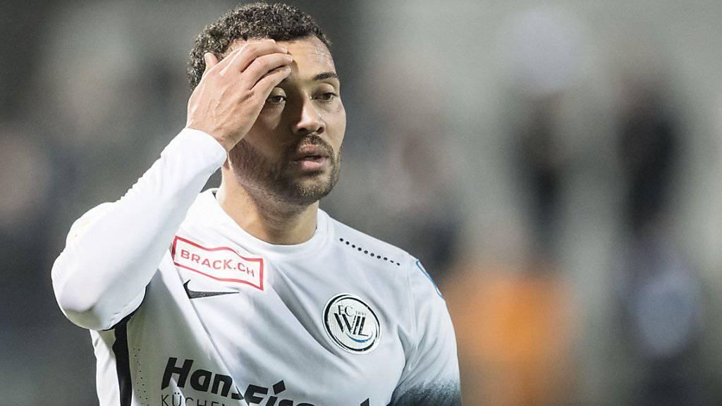 Johan Vonlanthen wischt sich den Schweiss von der Stirn.