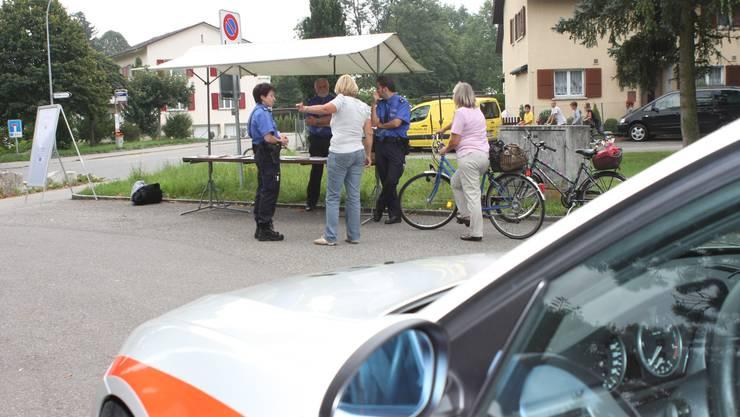 Die Stadtpolizei Grenchen macht wieder Sprechstunden. (Archiv)