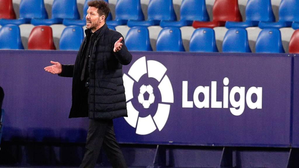 Levante stoppt Leader Atlético erneut
