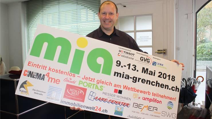 Christian Riesen weibelt für die Wiederbelebung der Grenchner mia.