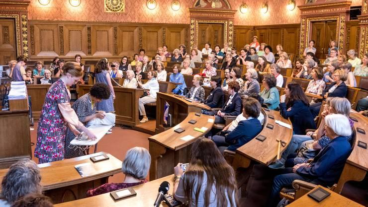 2018 feierten die Frauen 50 Jahre Grossrätinnen für Basel-Stadt. In zehn Tagen ist klar, wie viele Frauen ab Februar 2021 im Grossen Rat sitzen werden.