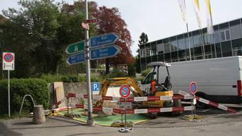 Schon am Morgen nach dem Entscheid begannen am Ritterquai die Installationsarbeiten für eine Ladestation.