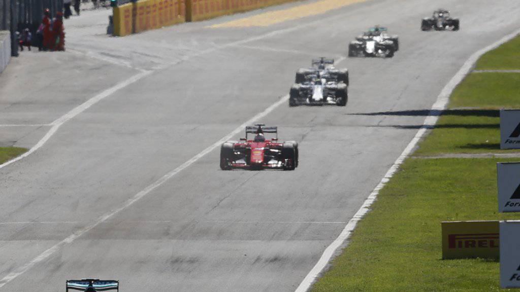 Monza verbleibt im Formel-1-WM-Kalender