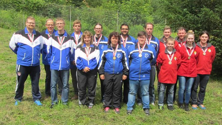 Subingen-Deitingen - die Siegermannschaft bei der Elite.