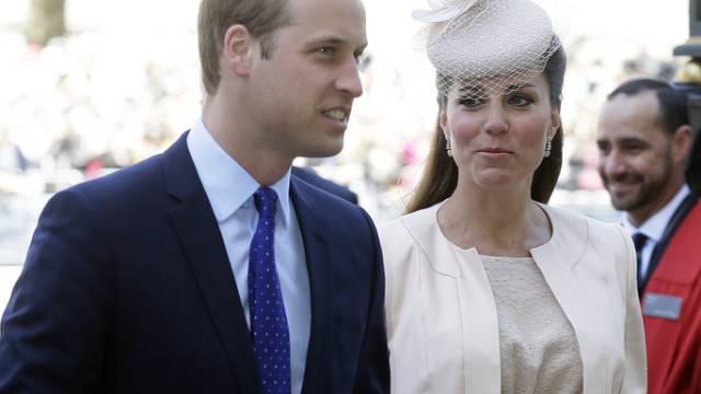 Zocker meinen, es wird ein Mädchen: William und Kate (Archiv)