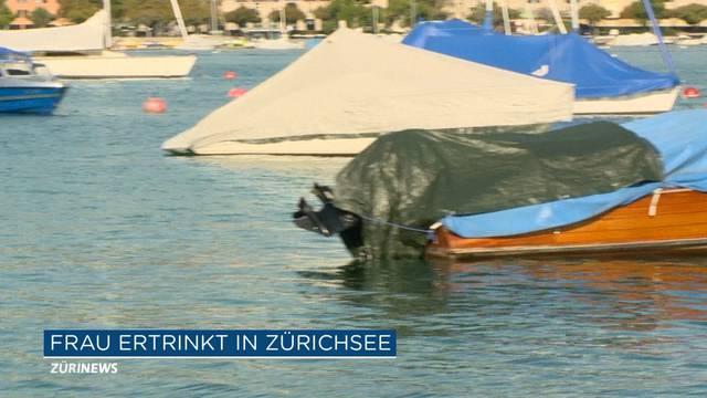 Tote Frau im Zürichsee