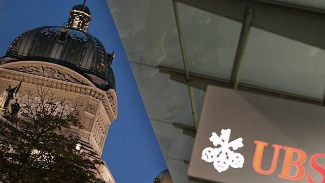 Schweiz stellt sich hinter UBS
