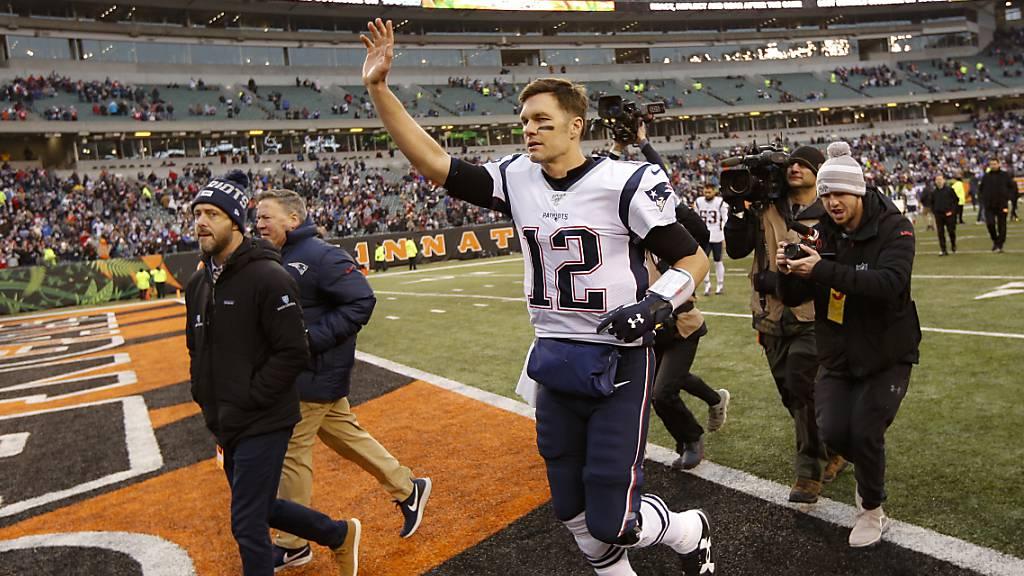 Patriots zum 11. Mal in Folge in den Playoffs