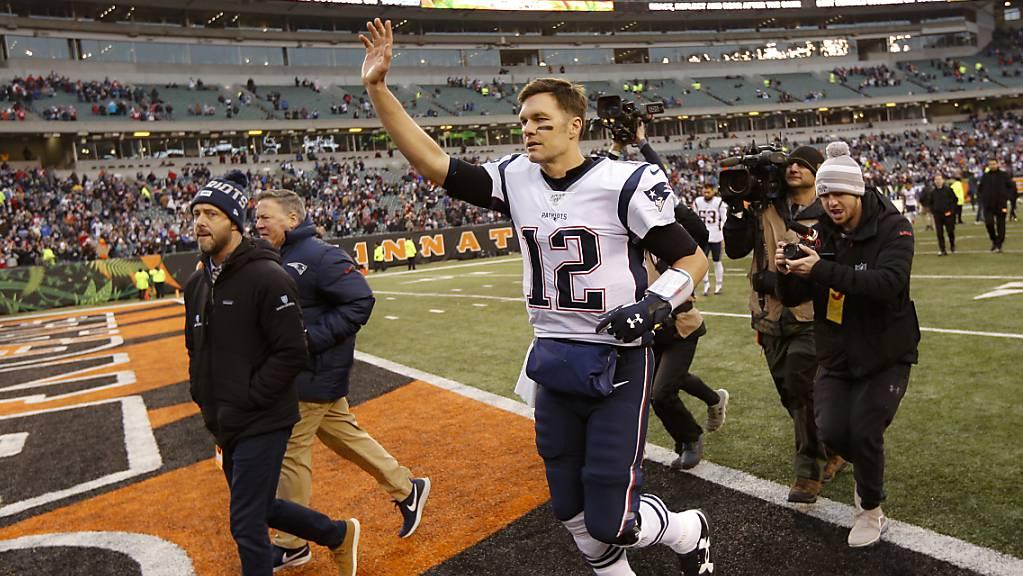 Ein weiterer erfolgreicher Abend: Superstar Tom Brady qualifizierte sich mit den New England Patriots zum elften Mal in Folge für die Playoffs