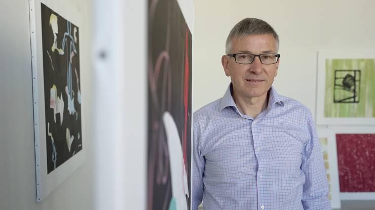 Hans Furer, Anwalt, Kunstsammler, Kunstförderer und Künstler.