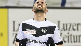Armando Sadiku spielte im letzten Halbjahr für Lugano