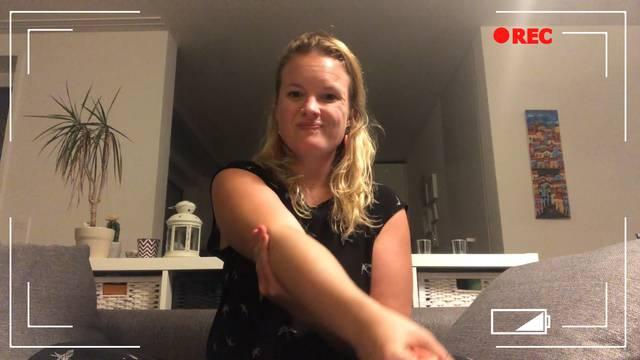 Keine Gnade: Trotz Verletzung zum harten Training