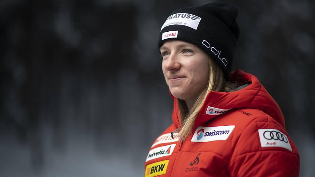 Nadine Fähndrich blickt der Tour de Ski optimistisch entgegen.
