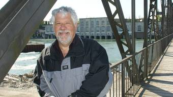 Peter Scholer, Präsident der IG Pro Steg.