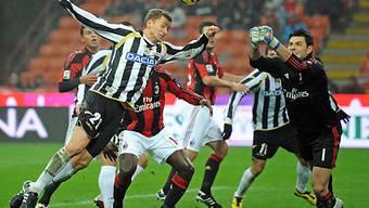 Almen Abdi schied mit Udinese im Cup-Achtelfinal aus.