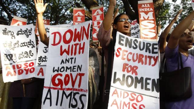 Proteste gegen Vergewaltigungen in Indien (Archiv)