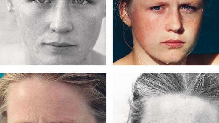"""Ein Gesicht hat viele Gesichter: In """"You are the Weather"""" zeigt die US-Künstlerin Roni Horn den Einfluss von Wind und Wetter auf den Ausdruck einer jungen Frau. Die Ausstellung ist ab Samstag in der Fondation Beyeler zu sehen."""