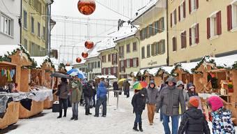 Der neue Standort des Oltner Weihnachtsmarktes am Ildefonsplatz und Oberen Graben (Bild) kommen gut an.