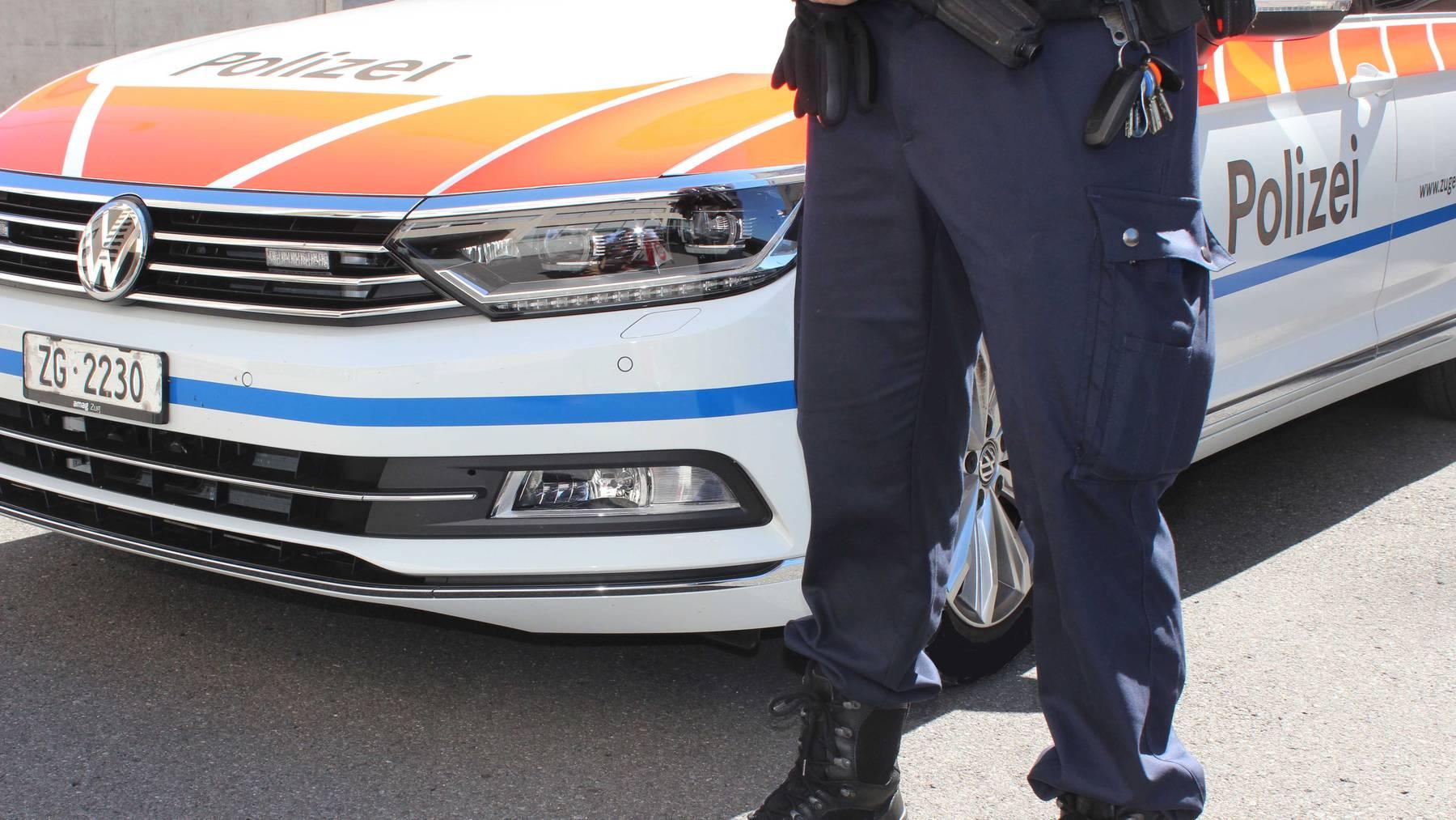 Zuger Polizei (Symbolbild)