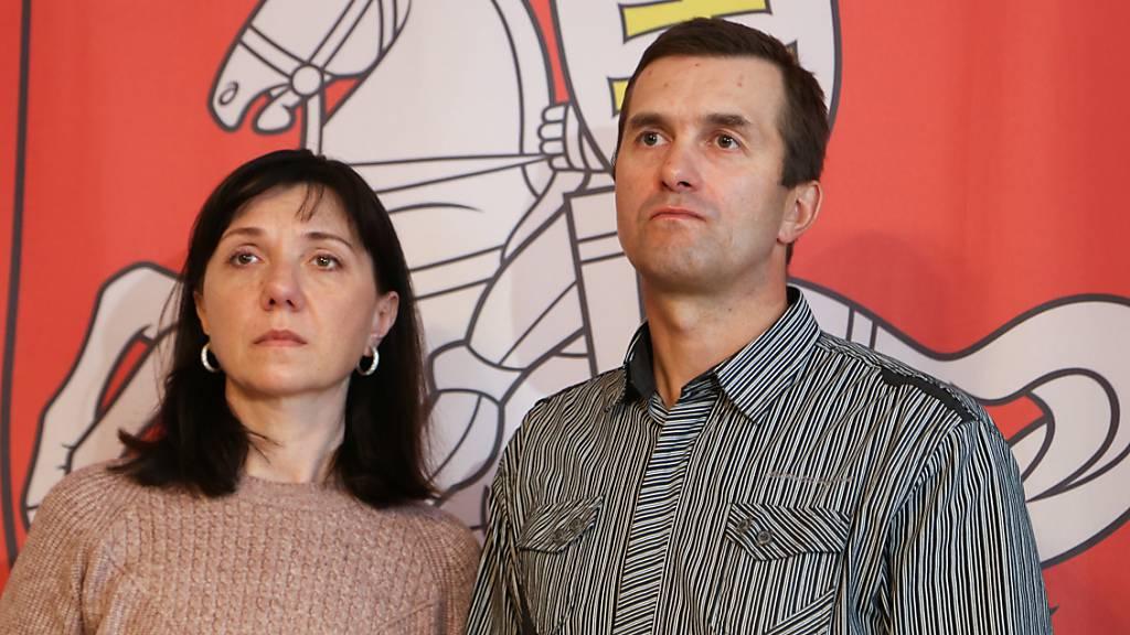 Eltern von Blogger Protassewitsch: Wissen nicht, wo er ist