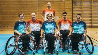 Das Para-Badminton-Team in Nottwil.