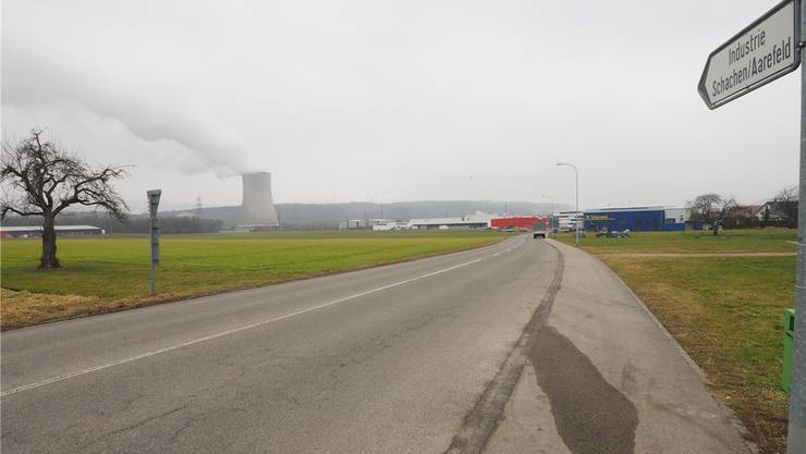 24000 Quadratmeter, verteilt auf fünf Parzellen, umfasst das Industriegebiet Lören. Bald fahren die ersten Bagger auf.