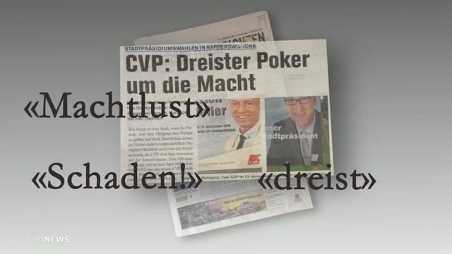 Verleger betreibt Anti-CVP-Propaganda im Wahlkampf