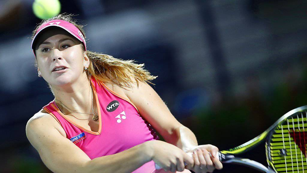 Kehrt nach neun Wochen auf die WTA Tour zurück: Belinda Bencic