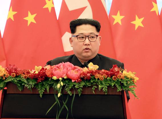 Hat kein Interesse an einer nuklearen Abrüstung: Nordkoreas Machthaber Kim Jong Un. (Archivbild)