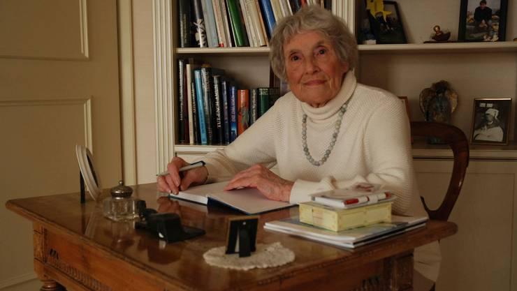 Rosemarie Stucki-Maurer, aufgewachsen in Gontenschwil, hat ihre Erinnerungen aufgeschrieben im Buch «Es esch nömme die Zyt».