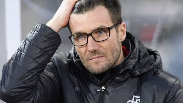 Konnte zuletzt mit den Resultaten des FCB zufriedener sein als mit den Leistungen: Raphael Wicky