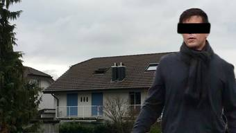 Thomas N. hat der Feuerwehr beim Löschen des Hauses der Familie Schauer zugeschaut, bevor er zum Feiern nach Zürich gefahren ist.