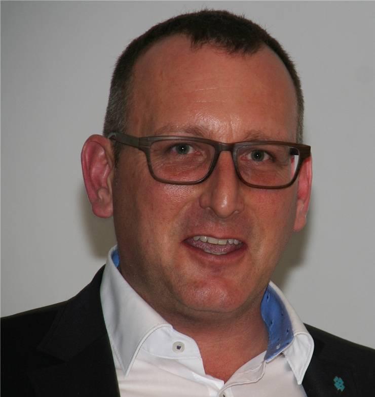 Raymond Keller, Präsident des Gewerbevereins Rheinfelden
