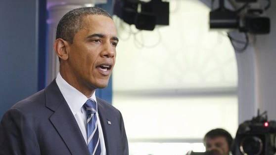 US-Präsident Barack Obama hat am Donnerstag im Weissen Haus über die Budgetverhandlungen zwischen Republikanern und Demokraten berichtet