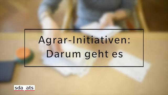 Agrar-Initiativen: Darum geht es