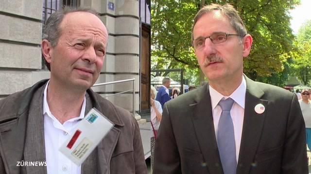 Mario Fehr im Streit mit Richard Wolff