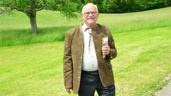 Peter Steiner, gelernter Orthopäde, brachte 2500 Jungjägern das Handwerk bei.