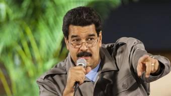 Scheint zunehmend nervös zu werden: Venezuelas Präsident Maduro