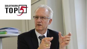 Der Co-Präsident des Fusions-Projekts Martin Blaser.